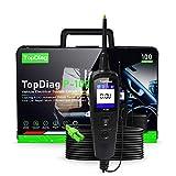 TopDiag P100 Strumenti Diagnostici di Sistema Elettrico Auto Profession Veicolo Tester di Circuito Elettrici Penna Strumento per 12 V Car e 24 V Camion (Test di Resistenza/Tensione)