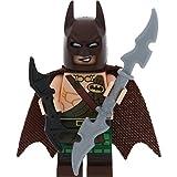 LEGO Batman Minifigur Tartan Batman incl. Bat-a-Rang + 1 GALAXYARMS Schwert
