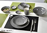 Flirt by R&B Geschirr-Serie Takeo Leaves Material Salatschale 21 cm Takeo Leaves