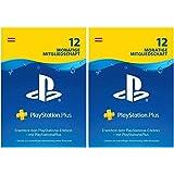 PlayStation Plus Mitgliedschaft | 24 Monate | PS4 Download Code - österreichisches Konto - 12 + 12 Monate Edition | PS4 Downl