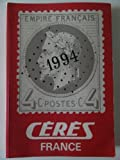 Ceres catologue timbres poste France 1994