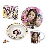 Soy Luna Soy Set Desayuno 3 Piezas Ceramica (Suncity SLA102226)
