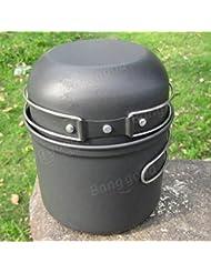 Bazaar DS-201 portable Sets Topf Hohe Qualität 3-4 Personen Camping-Picknick