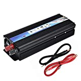 Formulaone 12V DC a CA 110 V Auto Inverter 2000 W Car Power Modified Inverter a onda sinusoidale Convertitore di potenza per automobile professionale