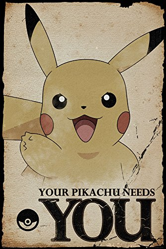 GB Eye LTD, Pokemon, Pikachu Needs You, Poster 61