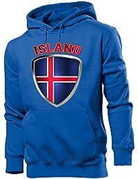 ISLAND - Herren Hoodie Gr.S bis XXL