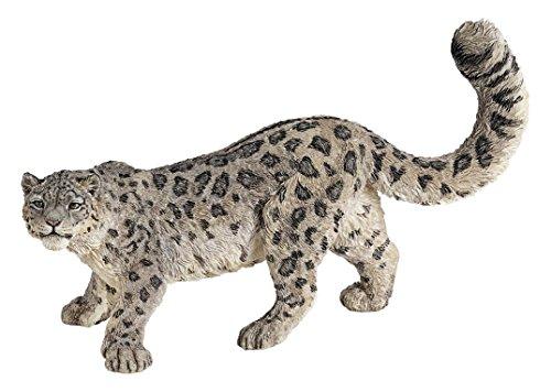 Papo 50160 - Schneeleopard, Spielfigur