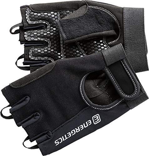 ENERGETICS Herren 310 Handschuhe, Schwarz/Grau, XL