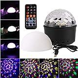 Funpa Party Licht 3 in 1 USB Angetrieben LED Beamer Nacht Licht Musik Redner