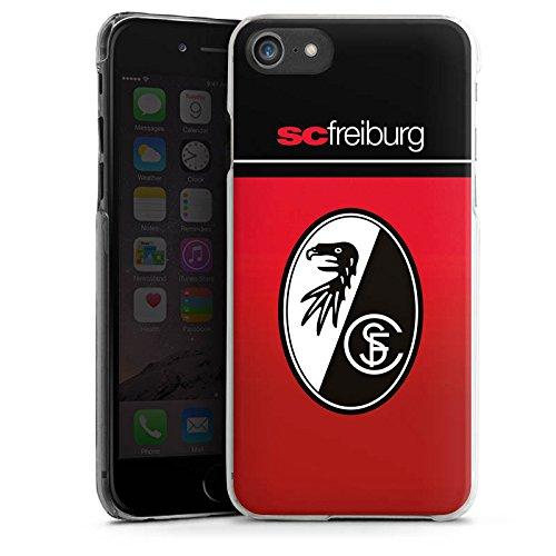 Apple iPhone 6 Silikon Hülle Case Schutzhülle SC Freiburg Fanartikel SCF Fussball Hard Case transparent