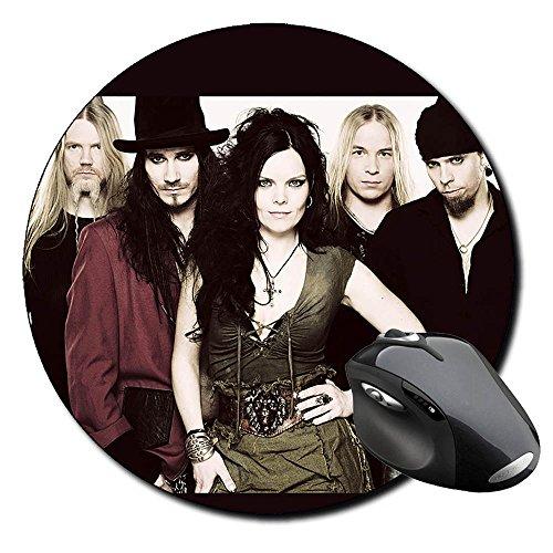 Nightwish Anette Olzon Tappetino Per Mouse Tondo Round Mousepad PC