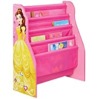 Hello Home Disney Princess Sling Bookcase, polyester, Pink, 23 x 51 x 60 cm