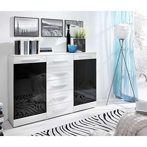 Just Home Verona 2D5S cómoda (tamaño): 100 x 150 x 41 cm en 4 coloures distintos fabricantes