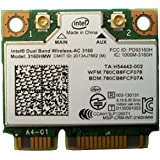 Intel 3160.HMWWB.R - Adaptador para Bluetooth Dual Band WiFi AC 3160