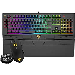 GAMDIAS ARES Gaming Membrane Keyboard and 4000DPI Mouse