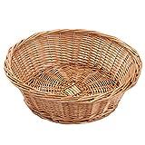 Fruit Bowl, juego de 3, mimbre cesta de frutas pan bandeja, kingwillow., Mimbre, 2 unidades