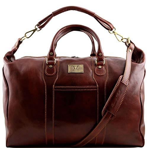 Tuscany Leather Amsterdam Sac de voyage en cuir Marron