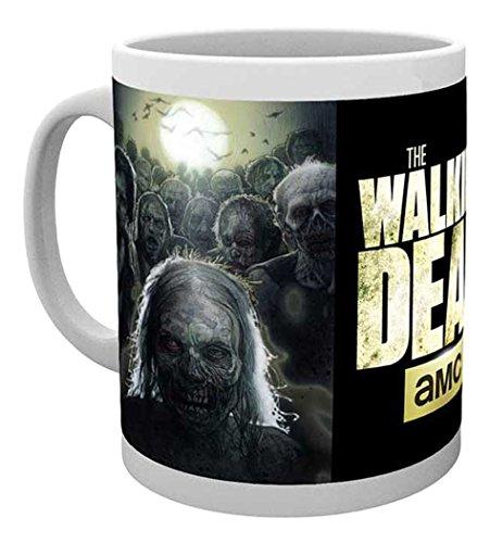 empireposter - Walking Dead, The - Zombies - Größe (cm), ca. Ø8,5 H9,5cm - Lizenz Tassen, NEU -...