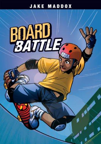 Board Battle (Jake Maddox Sports Stories) (English Edition) (Battle Board)