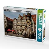 Roland auf dem Marktplatz Bremen  Statue of Roland on market place Bremen - Bremen, D 1000 Teile Puzzle quer