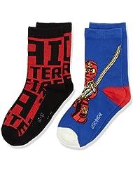 Lego Wear Ninjago Ace 703-Socks, Chaussettes Garçon, ( lot de 2 )