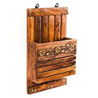 The product has been handmade with care using traditional skills and techniques by artisans from deep rural parts of India. The wood used is a premium and durable hardwood with a beautiful grain called Indian Rosewood (also called Shisham / Sheesham)...