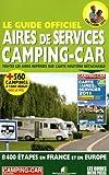 Le guide officiel des aires de services camping-cars