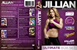 Jillian Michaels - The Ultimate Box Set - 5 DVD's - UK PAL