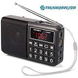 PRUNUS Radio Portable Rechargeab...