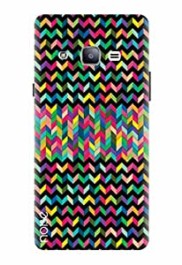 Noise Printed Back Cover Case for Samsung Galaxy J3