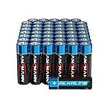 ANSMANN Batterien AA Alkaline Größe LR6 - AA Batterie für Spielzeug (48 Stück Vorratspack)