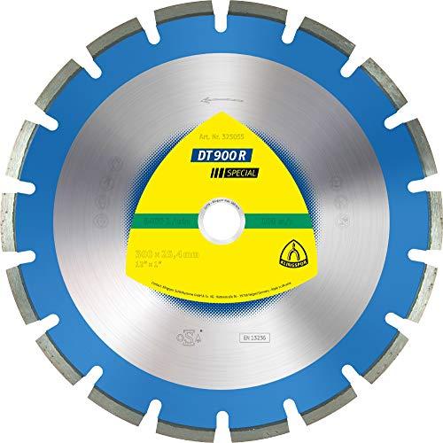Klingspor DT 900 R Diamanttrennscheiben, 450 x 3,6 x 30 mm 32 Segmente 40 x 3,6 x 10 mm, Engverzahnt