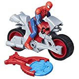 Marvel Spiderman- Spiderman Figurine Vehicule Blast & Go Spider Man, B9994