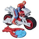 Marvel Spiderman Spiderman Figurine Vehicule Blast et Go Spider Man, B9994
