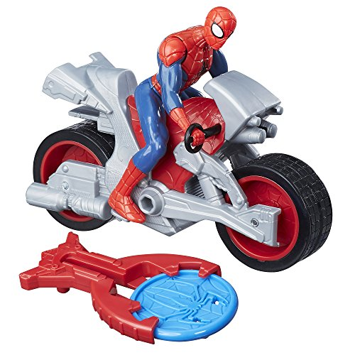 Marvel Spiderman – Spiderman Figura Vehículo Blast y Go Spider Man, b9994