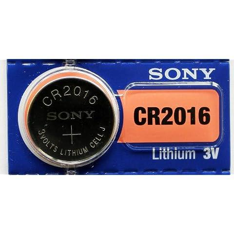 2 pc SONY CR2016 2016 litio 3 V pilas - hecho en Japón