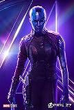 Poster THE AVENGERS : INFINITY WAR – Nebula - U.S Movie Wall Print - 30CM X 43CM Brand New