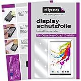 dipos I 2X Schutzfolie klar passend für Odys Neo Quad 10 White Folie Bildschirmschutzfolie