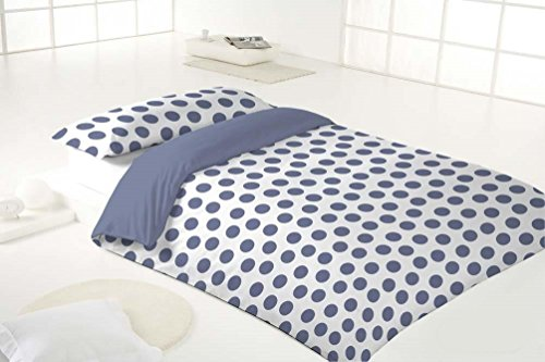 Mehr Relax Bettbezug 90x36.5x5 cm blau