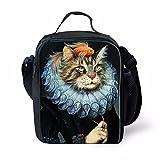 Prettyia Cat Portatile Dispositivo di Raffreddamento Termico Tote Isolato Scatola di Pranzo al Sacco Borsa da Viaggio # 6 - #13