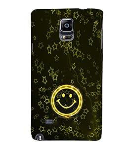 Ebby Premium 3d Desinger Printed Back Case Cover For Samsung Note 4 (Premium Desinger Case)