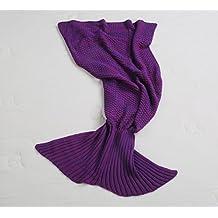 Sirena Textiles De Algodón Ropa De Cama De Lana Peinada Manta De Ocio,A1