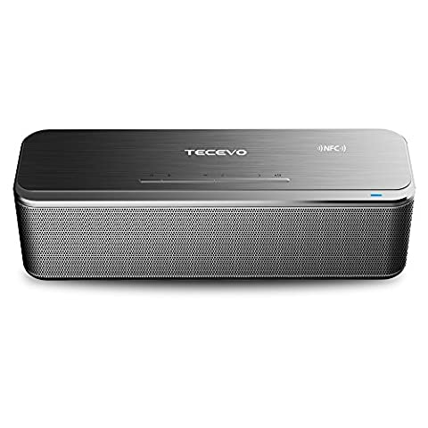 TECEVO A20 Premium 20W Bluetooth 4.0 Speaker 20 Watt Stereo Output Dual Passive Bass Subwoofers Portable & Rechargeable Built-in Microphone