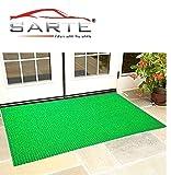 LOWRENCE Artificial Grass Outdoor Mat (4 X 2 Feet, Green)