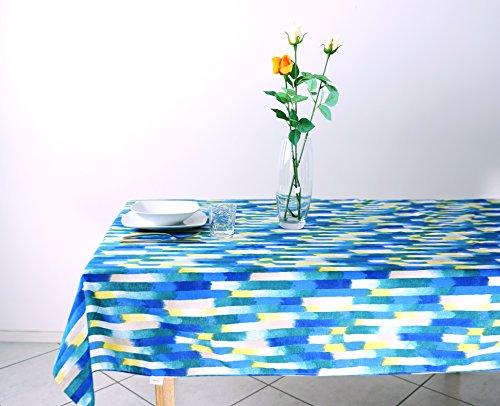 Tovaglia Rettangolare Cucina e Soggiorno Loneta mis. in Policotone 140 x 240 cm colore Blu