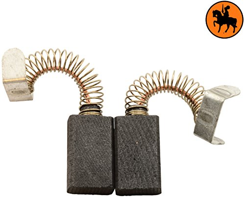 Buildalot Specialty Kohlebürsten ca-07-68039 für Virutex Schleifer LR184N - 5x9x15mm - Mit Federn, Kabel und Stecker - Ersatz für Originalteile 3517016 & 8417019