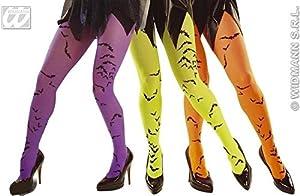widmann-wdm4788N disfraz Adulto mujer, Verde Naranja Violeta, wdm4788N