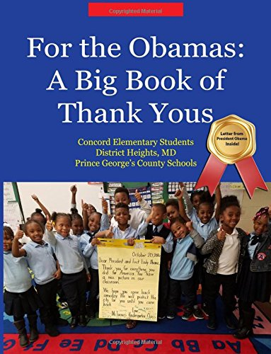 For the Obamas: A Big Book of Thank Yous thumbnail