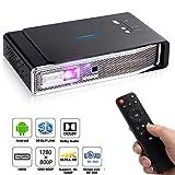 Mini Video Projector 600 ANSI Lumens (WXGA 1280*800) 4K 1080P Support Full HD