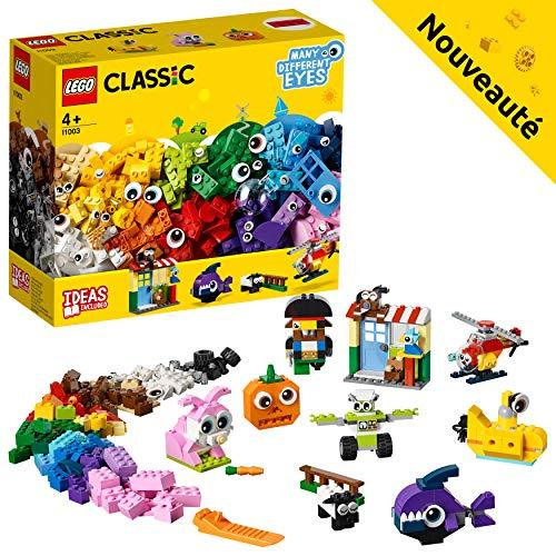 LEGO Classic - La boîte de briques et d'yeux - 11003 - Jeu de construction